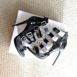 NWT Steve Madden Recital Black Leather
